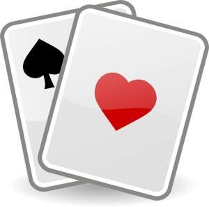 2 cartes blackjack