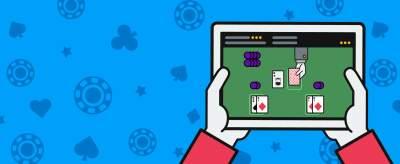 Blackjack sur tablette